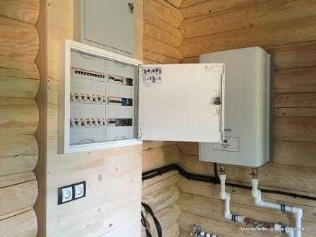 Электрика в деревянном доме в Санкт-Петербурге