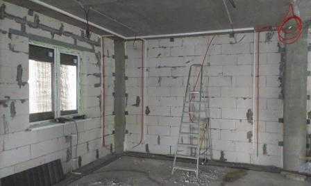 Электропроводка в частном доме в Санкт-Петербурге