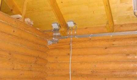 Электропроводка в деревянном доме в Санкт-Петербурге