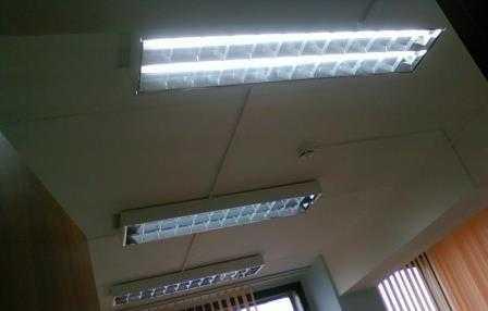 Установка люминесцентных светильников в Санкт-Петербурге