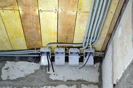 Монтаж электропроводки в доме в Санкт-Петербурге