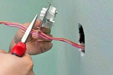 Монтаж выключателей в Санкт-Петербурге не дорого