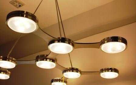 Установка подвесных светильников в Санкт-Петербурге