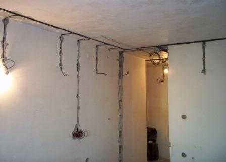 Электропроводка в квартире в Санкт-Петербурге