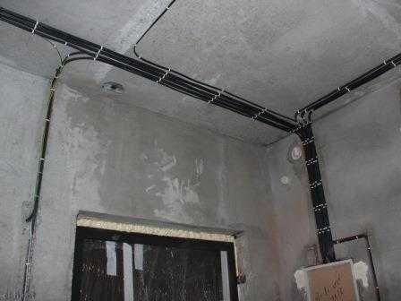 Проводка электрики в квартире в Санкт-Петербурге
