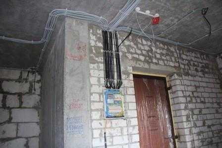 Разводка электрики в доме в Санкт-Петербурге
