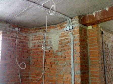 Разводка электрики в доме в Санкт-Петербурге не дорого
