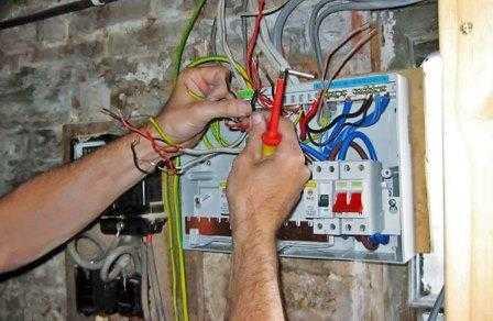 Ремонт внутренних электропроводок в Санкт-Петербурге