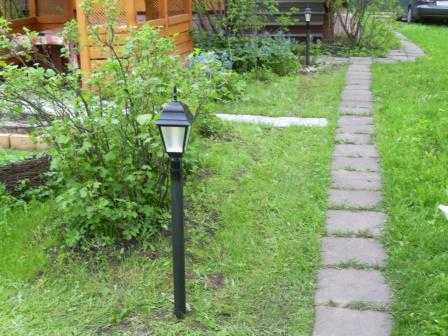 Установка уличных светильников в Санкт-Петербурге