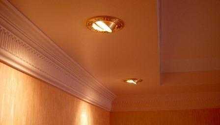 Установка встраиваемых светильников в Санкт-Петербурге не дорого