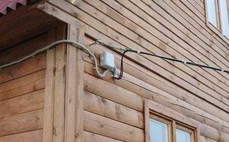 Электрика в загородном доме в Санкт-Петербурге