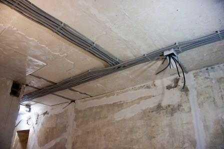 Замена и монтаж электропроводки в квартире в Санкт-Петербурге не дорого