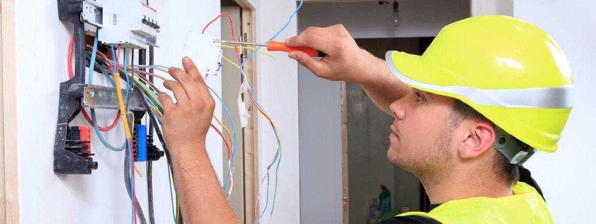 Вызов электрика в Адмиралтейском районе СПб на дому: цена, недорого