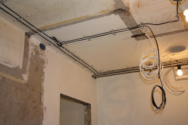 Замена электропроводки в хрущевке в Санкт-Петербурге